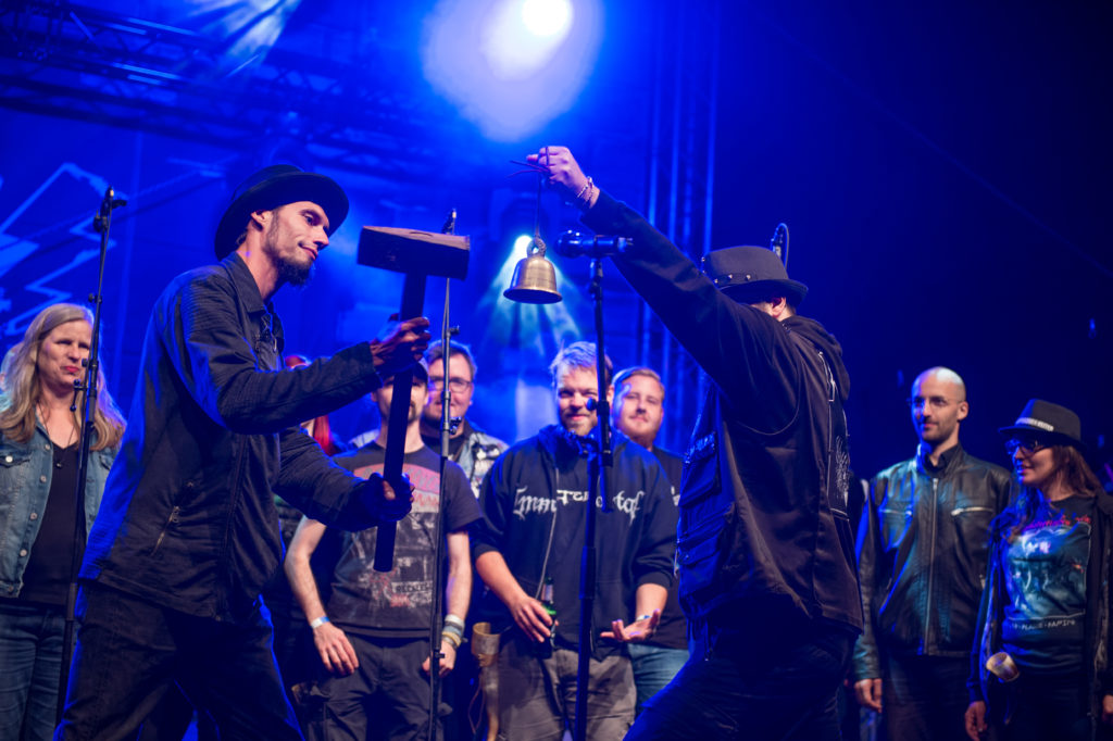 Doom Birds - Der Metal Chor - Kieler Woche 2018 - Radio Bobs Rock Camp - Foto Moritz Wellmann